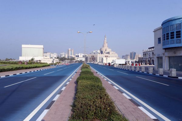 Qatar Blue Road (2) - Qatar