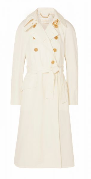 Oversized Trench Coat - autumn