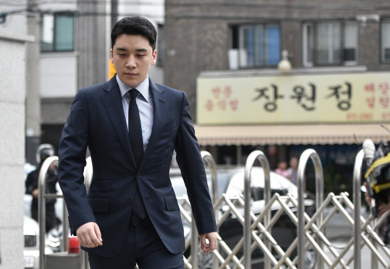 Seungri , a former big bang star in K-pop