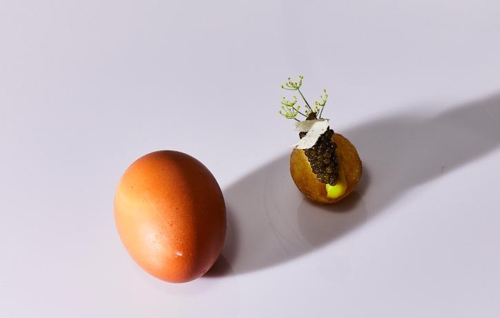 gaggan-dish-horseradish - michelin