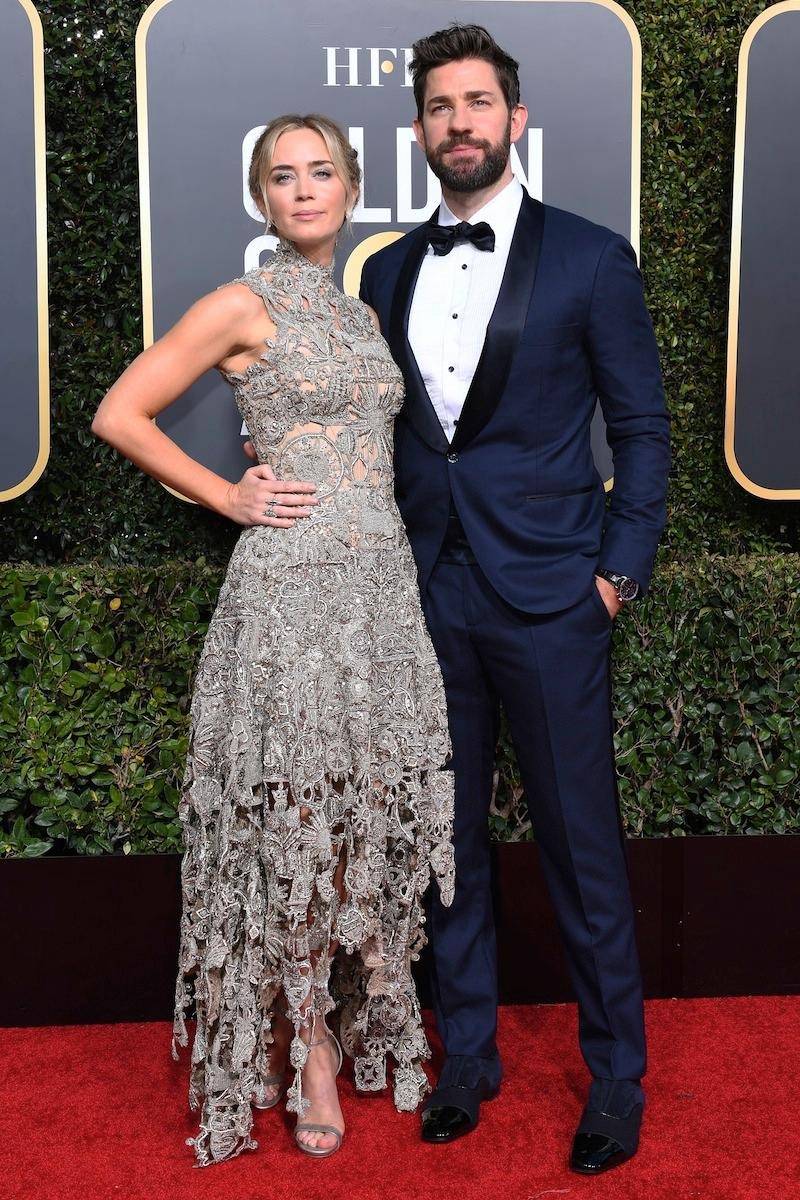 Emily and John - golden globes