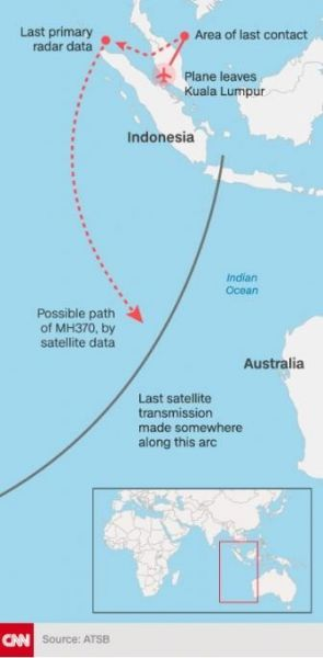 MH370 changing-CNN - MH370,tracking