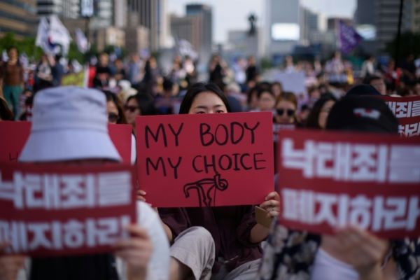 South Korea Abortion Ban AFP (4) - ban