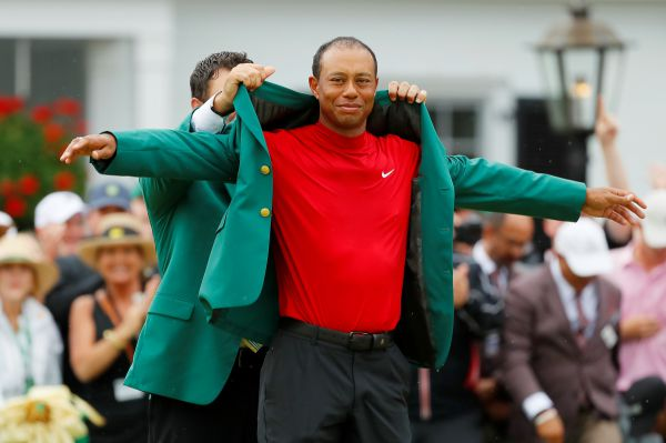 Tiger Woods Green Jacket - woods