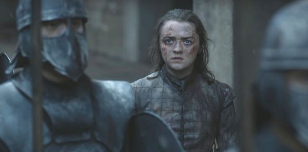 Arya Game of Thrones Finale - Game of Thrones