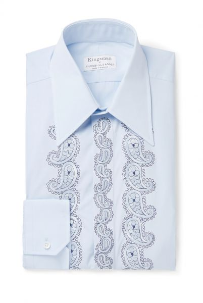 1147069_KINGSMAN + Turnbull & Asser Rocketman Light-Blue Slim-F - kingsman