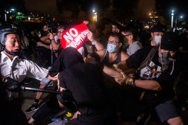 Hong Kong Protests Extradition Bill China AFP (5) - hong