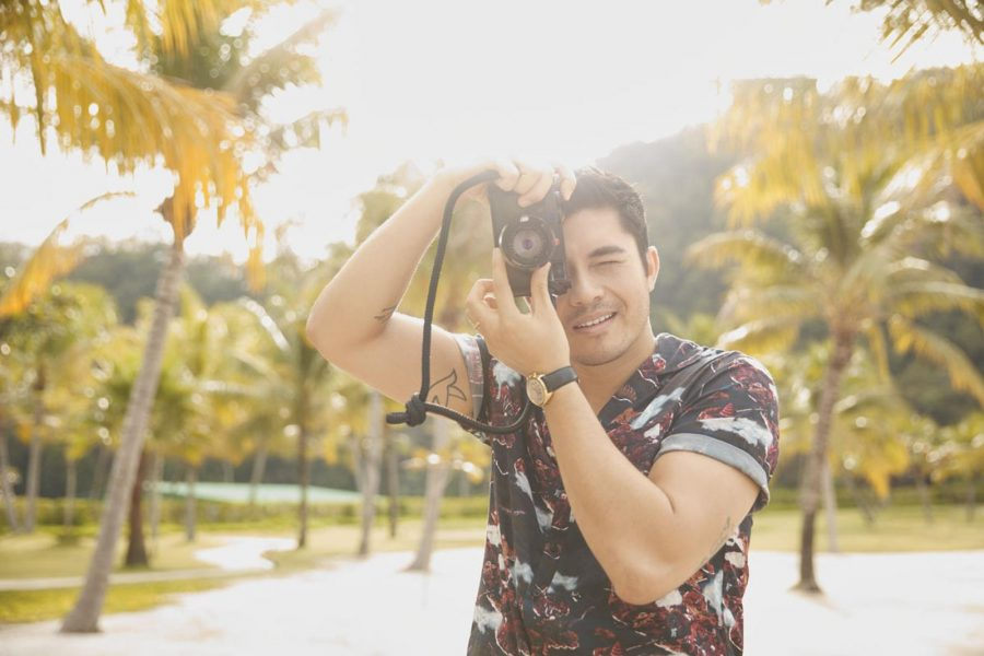 Watch How Henry Golding Nailed His Cover Shoot
