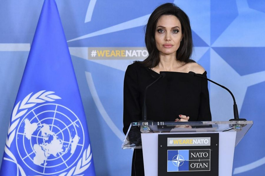 "Angelina Jolie: ""No One Dreams of Being a Refugee; They Dream of Living Up to Their Potential"""