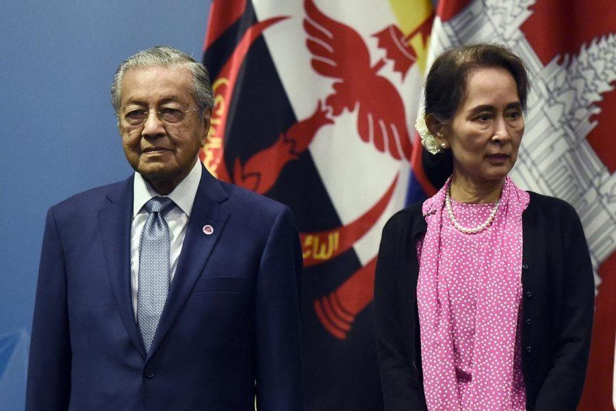 Mahathir Throws Shade at Aung San Suu Kyi at ASEAN Summit