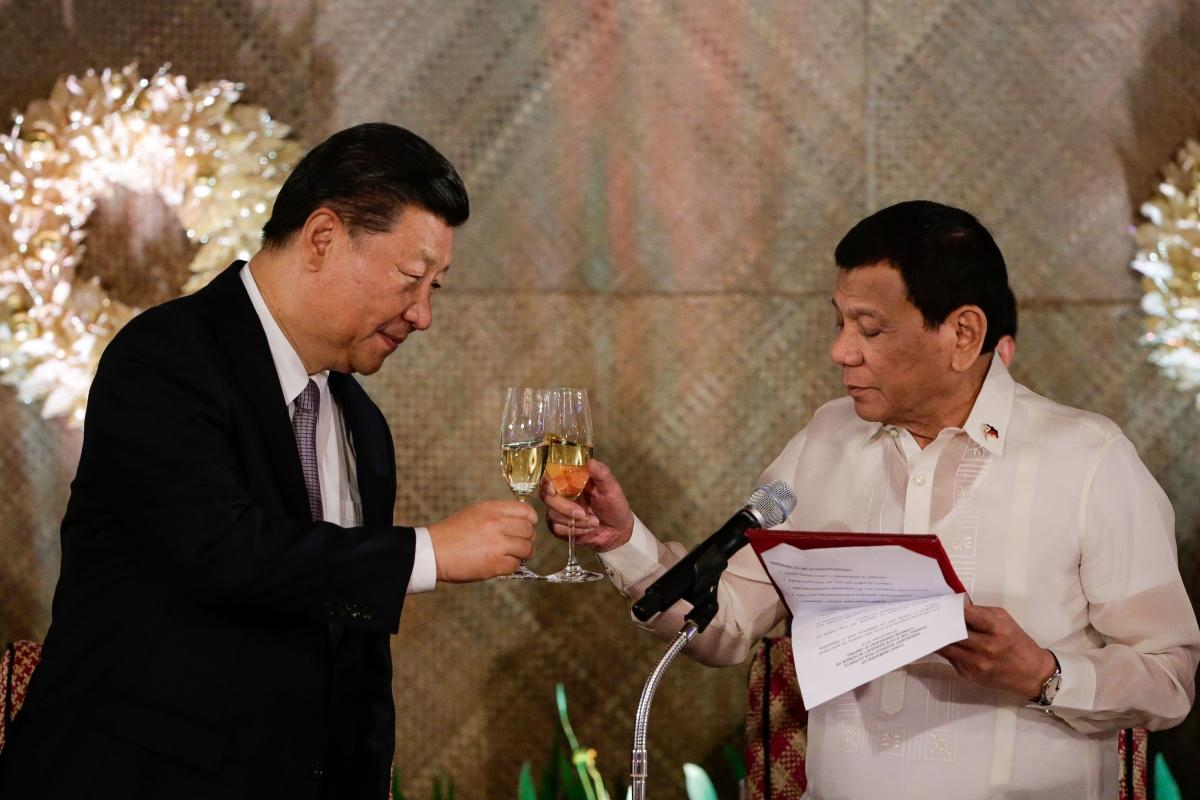 Wait, the Philippines and China Are Friends Now?