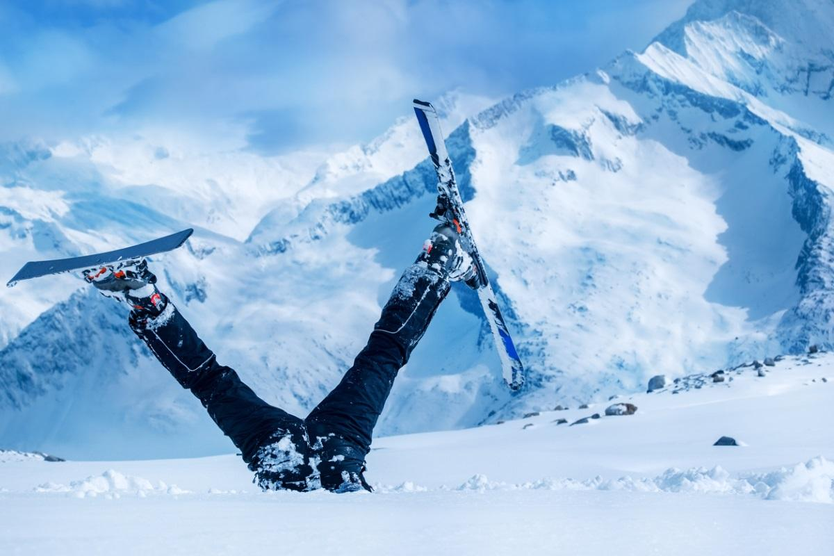 I Went Skiing and Was So Bad At It My Skis Got Confiscated