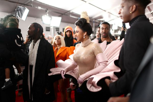 What Were These Celebrities Wearing at the 61st Grammy Awards?