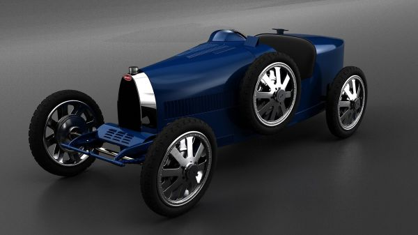 Bugatti Zooms In with the Baby Roadster Electric Car