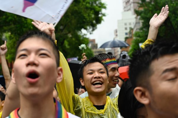 Love Wins for Taiwan Today