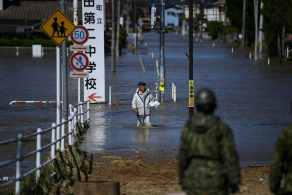 Typhoon Hagibis Slams into Japan, Leaves 35 Dead