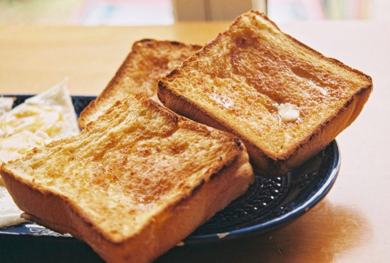 french toast with leftover bread