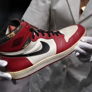 Michael Jordan's Air Jordan Sneakers Sell At Record Price