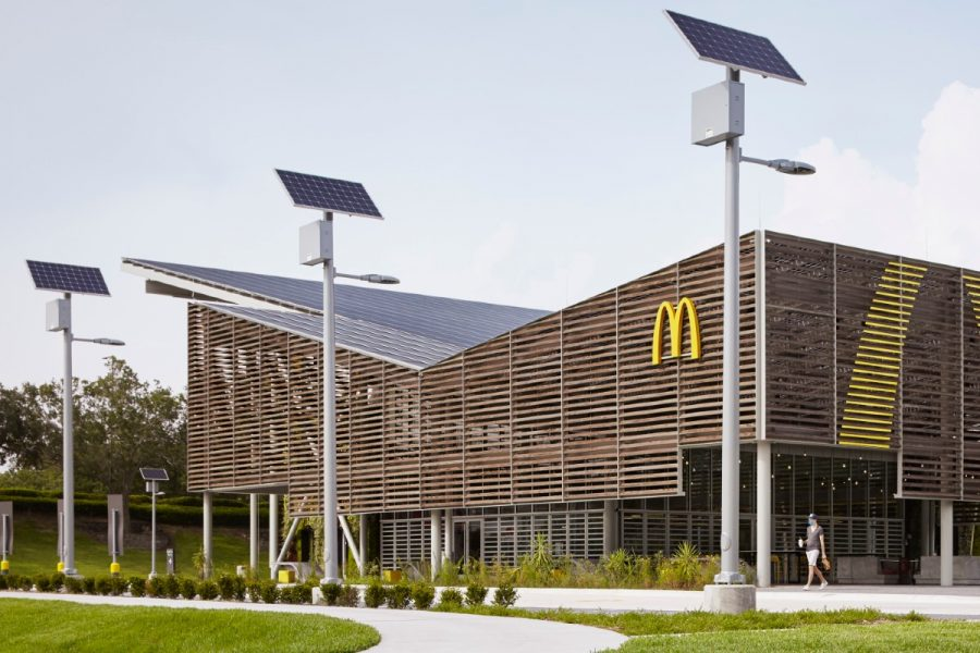 Fast Food Restaurants Are Trying To Be More Sustainable