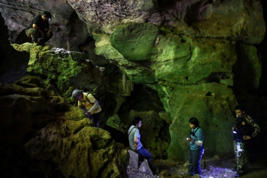 The Search For Thailand's Ancient Cave Artwork