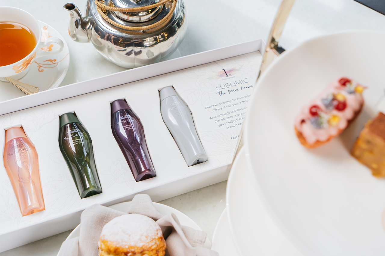 Enjoy A Delightful Afternoon Tea With Shiseido Professional