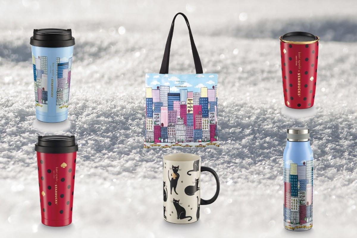 Starbucks And Kate Spade's Holiday Collection Is Playful And Cute