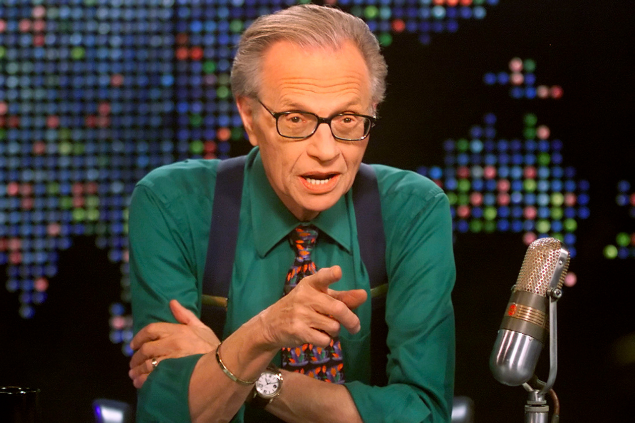 Remembering Legendary TV And Radio Host, Larry King   UNRESERVED   Intelligence Is Sexy