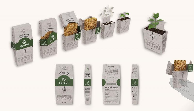 Sprout packaging