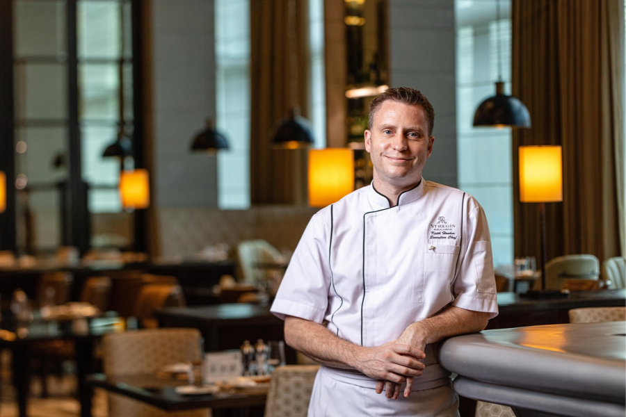 A Quick Bite with the new Executive Chef of The St. Regis Kuala Lumpur